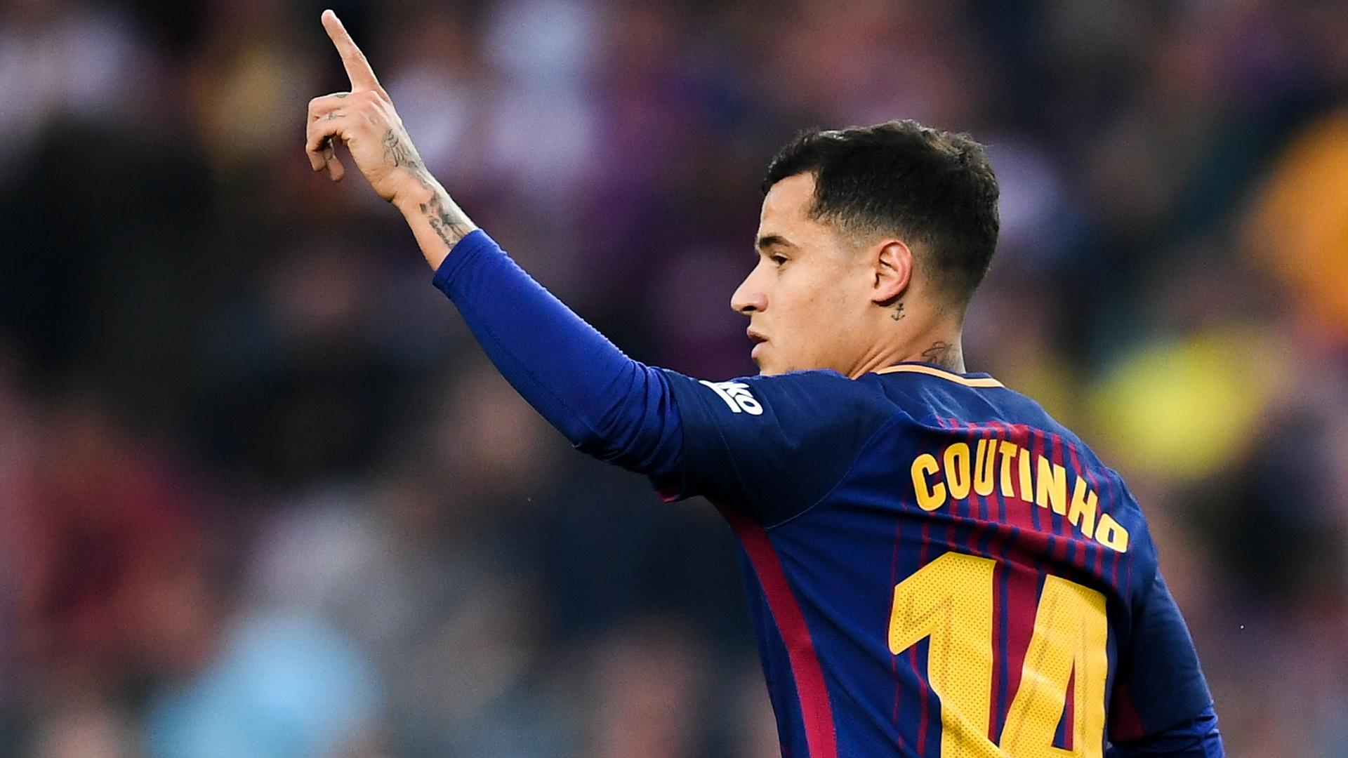 Philippe Coutinho Barcelona 2018-05-09