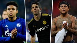 Yedlin, Pulisic McKennie split