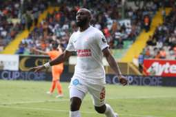 Souleymane Doukara Goal Celebration Alanyaspor Antalyaspor Super Lig 10/21/18