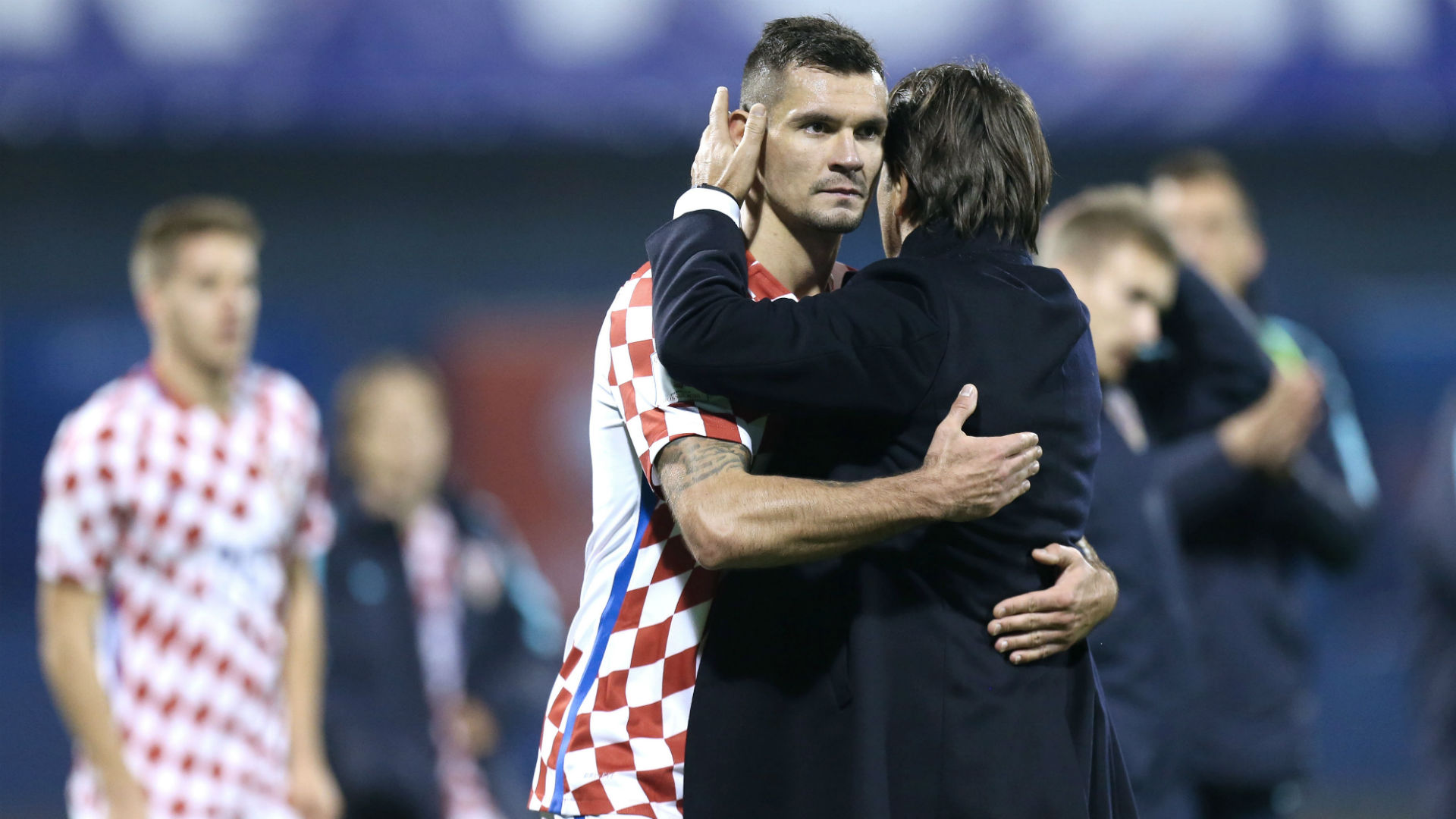 Croatia Greece WC Qualification 09112017 Dalic Lovren