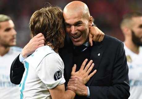 Storico Zidane: primo allenatore a vincere 3 Champions di fila