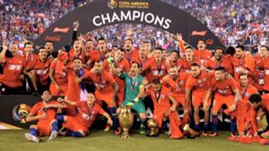 Chile Copa America winners