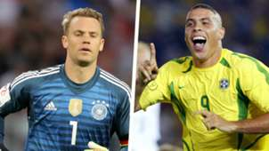 Manuel Neuer 2018 Ronaldo 2002 Split