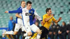 Grant Hanley Blackburn Rovers 2010