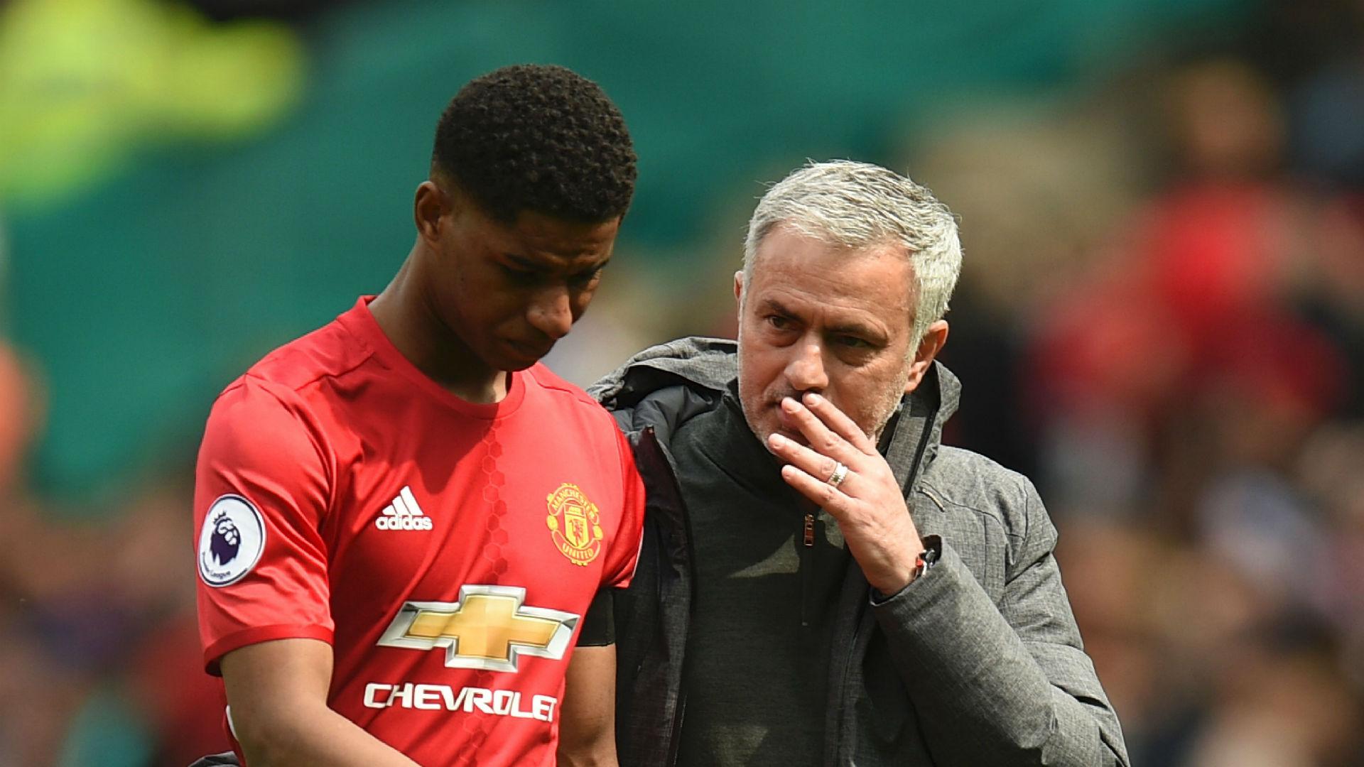 Marcus Rashford Jose Mourinho Manchester United