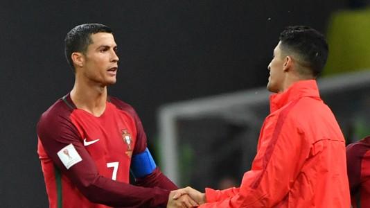 Cristiano Ronaldo Alexis Sanchez Portugal Chile