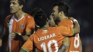 Brian Sarmiento Nicolas Bertolo Renato Civelli Tigre Banfield Primera Division 29042017