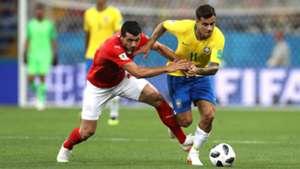 Brasilien Schweit Coutinho Dzemaili 17062018