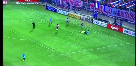 Gol Paraguay vs Uruguay