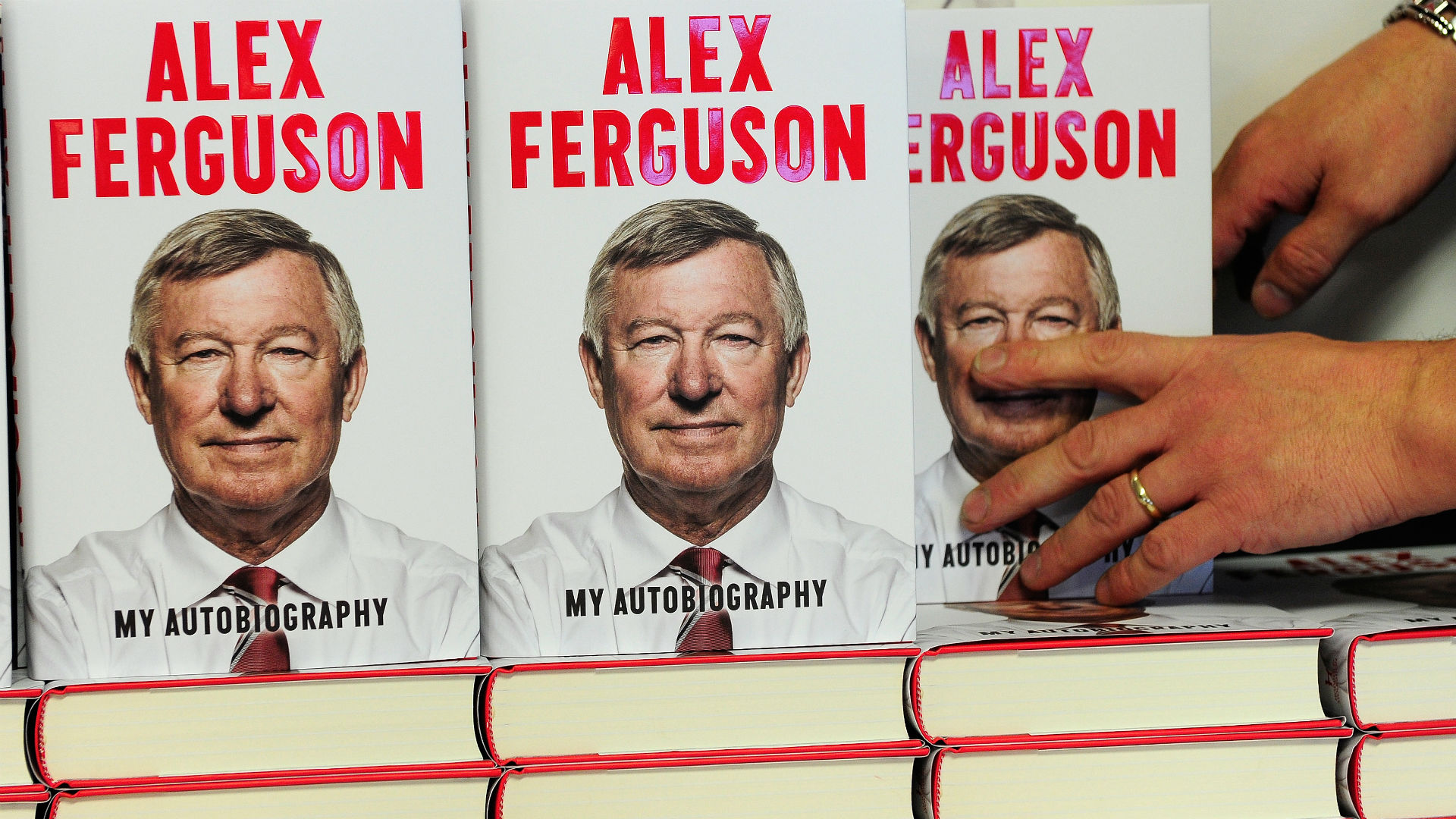 Sir Alex Ferguson book