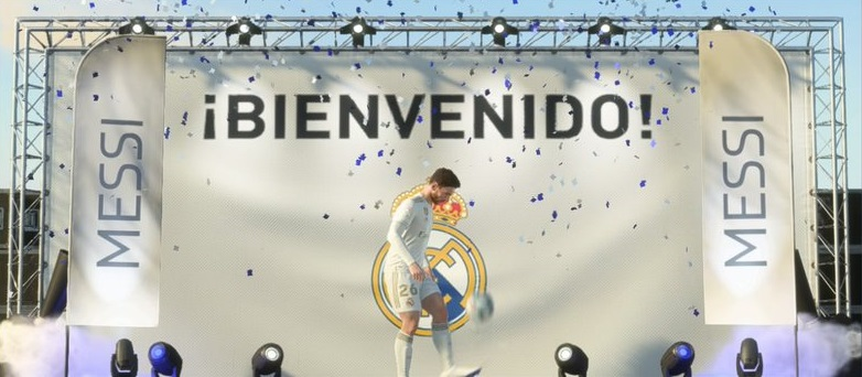 EMBED ONLY FIFA 20 Messi Madrid