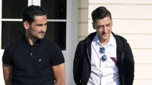 Ilkay Gundogan Mesut Ozil