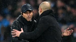 Antonio Conte Pep Guardiola Manchester City Chelsea