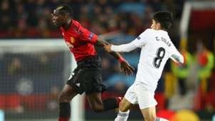 Paul Pogba Manchester United Valencia UEFA Champions League 02102018