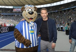 Ryan Reynolds Hertha BSC