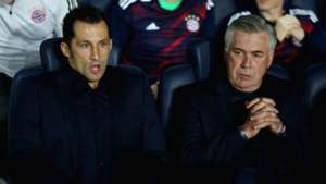 Carlo Ancelotti Willy Sagnol Bayern Munich