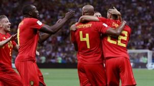 Belgium celebrate 2018