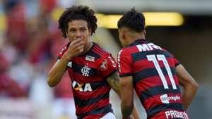 Willian Arao Lucas Paqueta Flamengo Atletico-MG Brasileirao Serie A 23092018