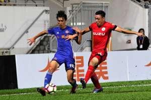 Hong Kong Premier League, Eastern 3:1 Southern.