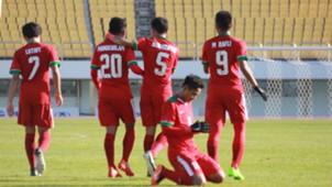 Selebrasi Timnas Indonesia U-19 & Brunei Darussalam