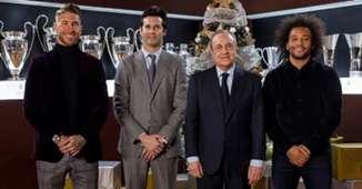 Sergio Ramos Solari Marcelo Florentino PérezReal Madrid