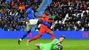 Moise Kean Italy England Under 21
