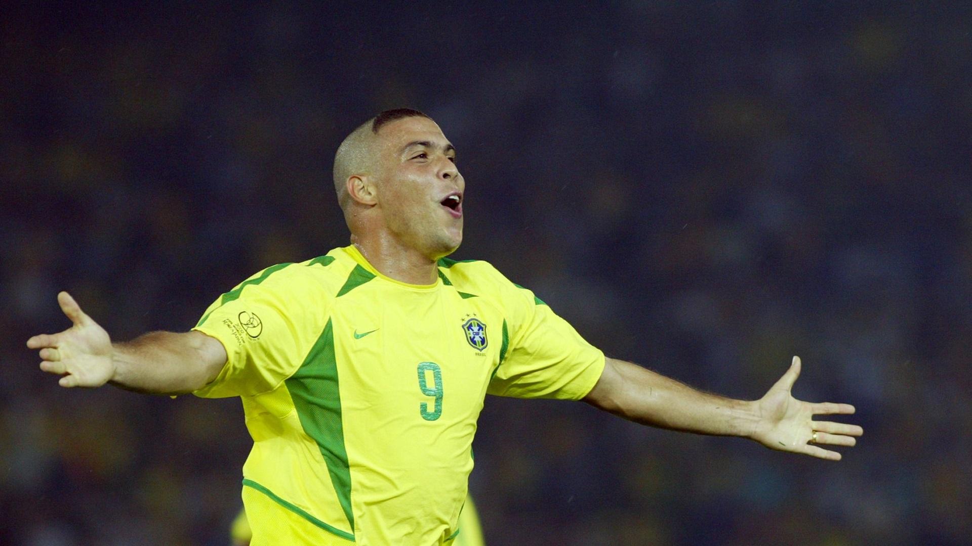 Ronaldo Brazil 2002 World Cup Final 30062001