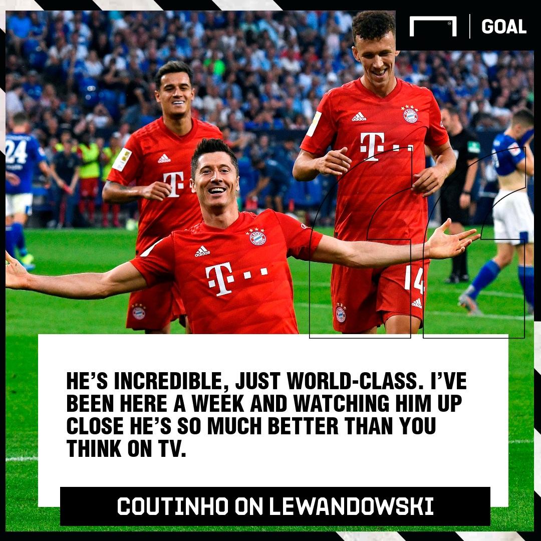 GFX Coutinho on Lewandowski