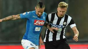 Barak Hamsik Napoli Udinese Serie A