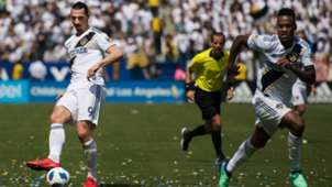 GERMANY ONLYZlatan Ibrahimovic Ola Kamara Los Angeles Galaxy