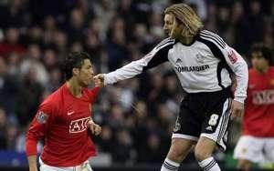 Cristiano Ronaldo Savage spit