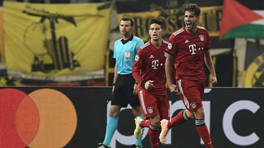 Bayern Munich AEK Atenas James Rodriguez Javi Martinez Champions League 2018