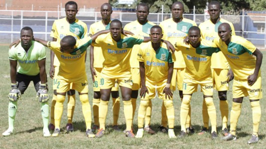 Mathare United squad v Chemelil Sugar.