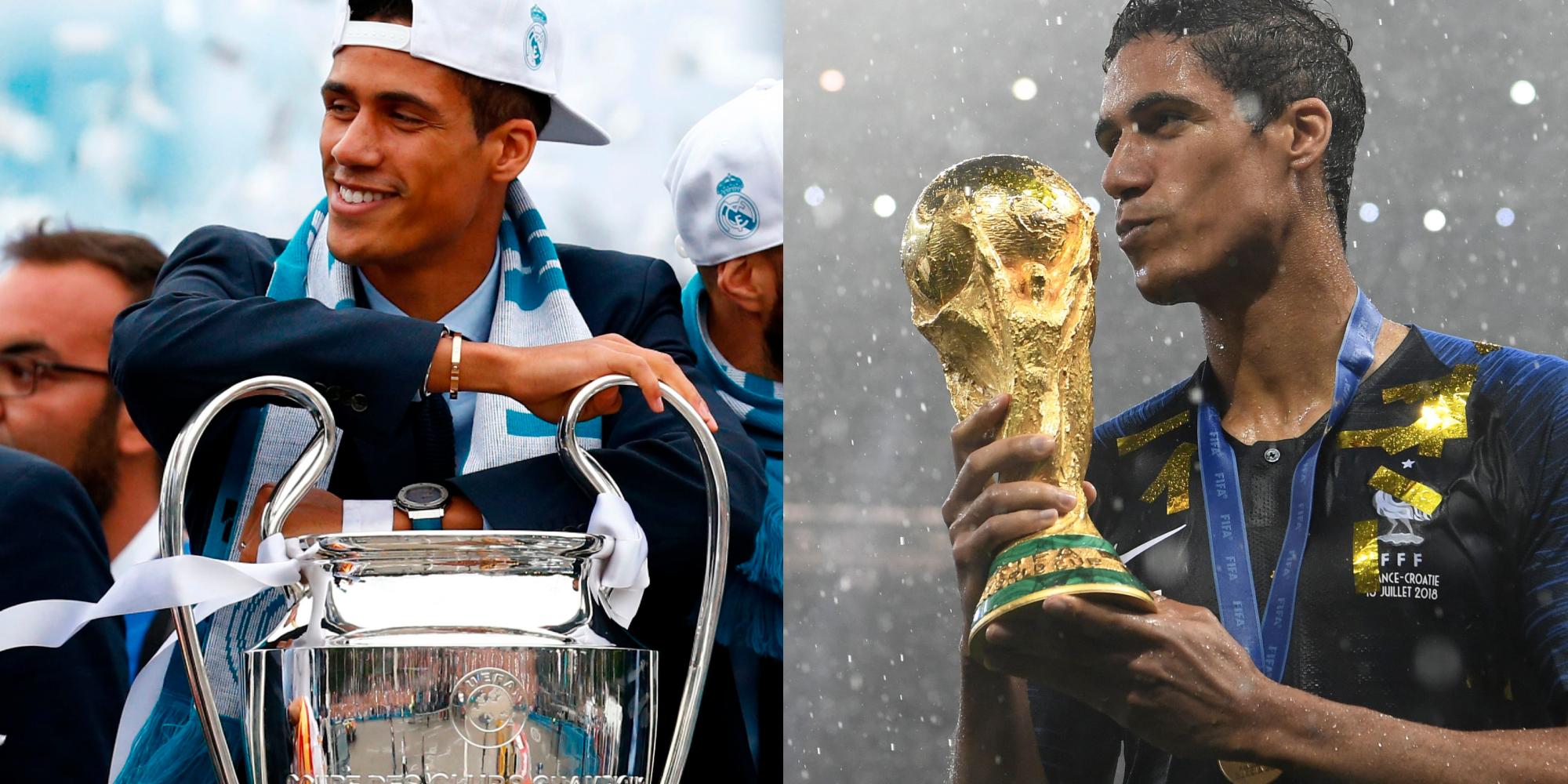 Varane Champions League World Cup
