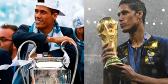 Varane Champions League World Cup