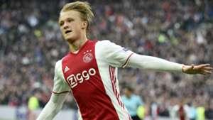 Kasper Dolberg Ajax Europa League