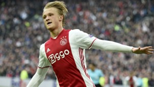 Kasper Dolberg Ajax Europa League