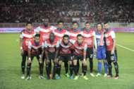 Kelantan first XI against Selangor 25/2/2017