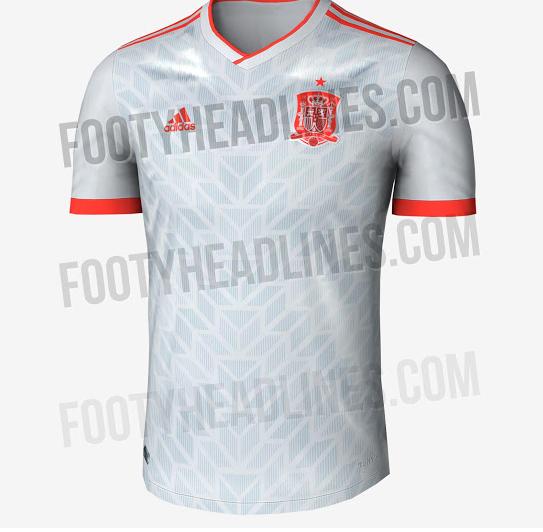 95f7d414ac Mundial Rusia 2018  Así sería la segunda camiseta y equipación de ...