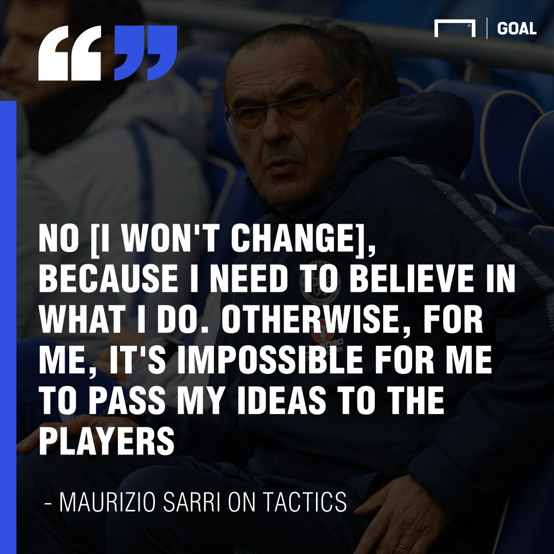 Maurizio Sarri quote GFX