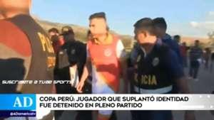 Peru player arrested