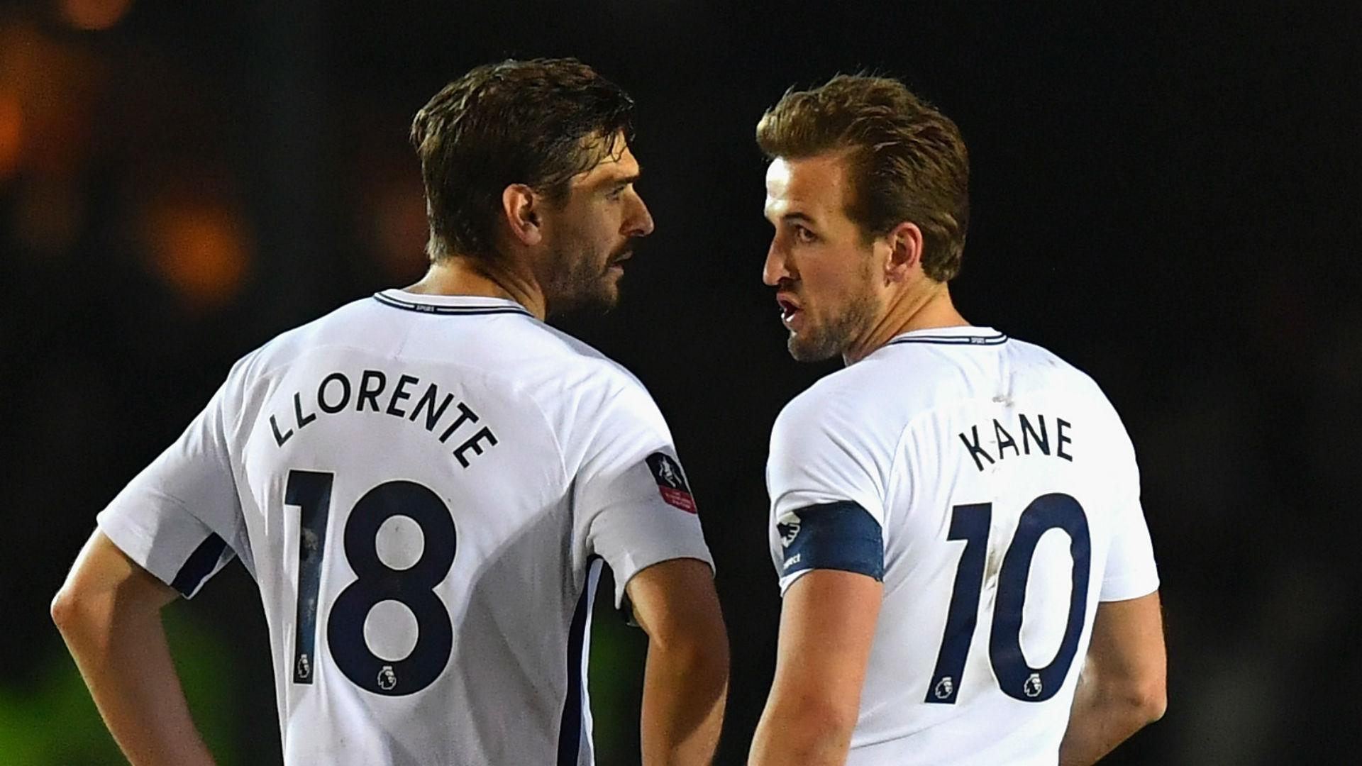 Fernando Llorente Harry Kane Tottenham 27012018