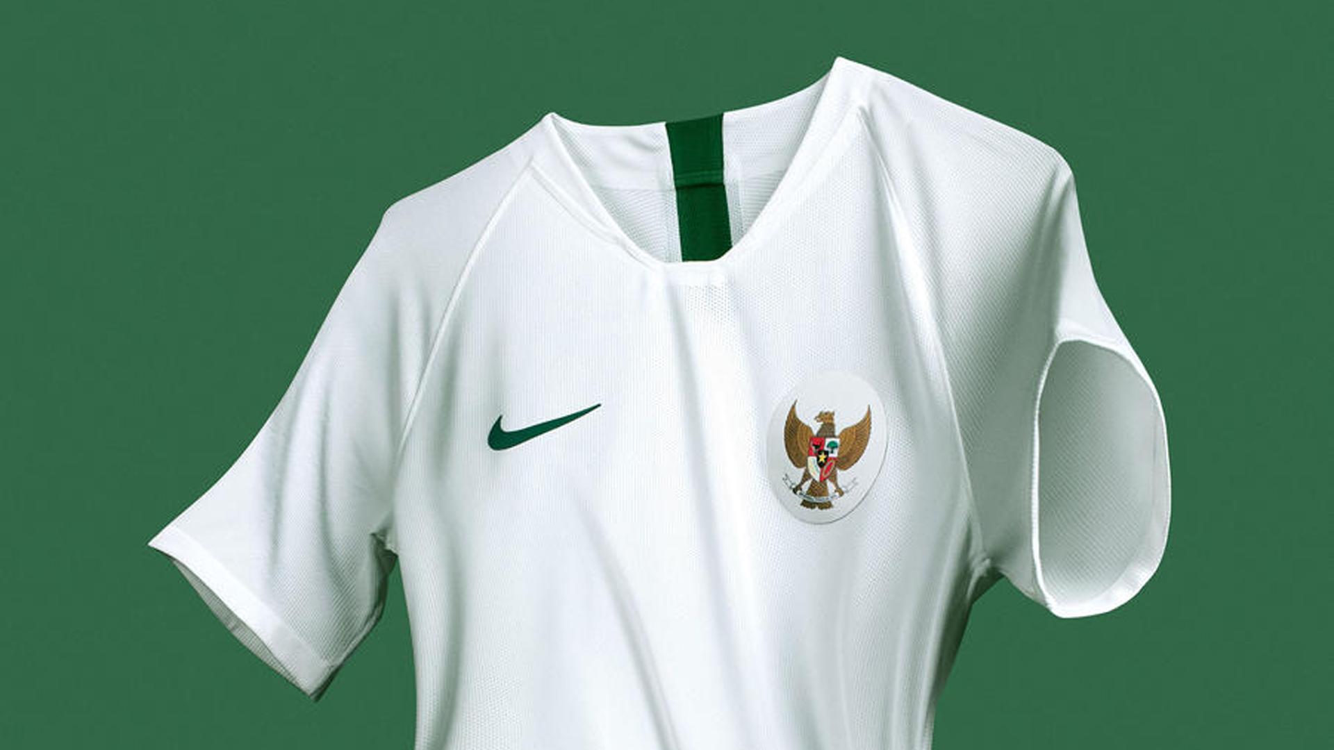 Jersey Timnas Indonesia Kaos Sepak Bola Merah Setelan Stelan Home Celana Asian Game 2018 Baju Kostum Jersy Jersi Futsal  Baru New Grade Lokal Size M