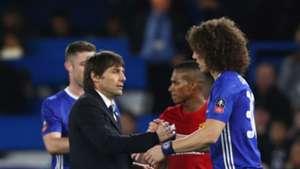 Antonio Conte David Luiz Chelsea