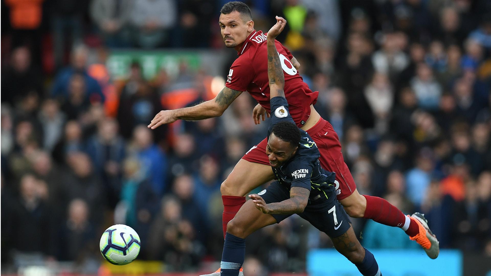 Dejan Lovren Daniel Sturridge Liverpool Manchester City EPL 07102018