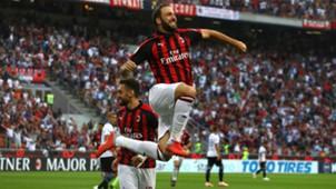 Milan Atalanta Higuain