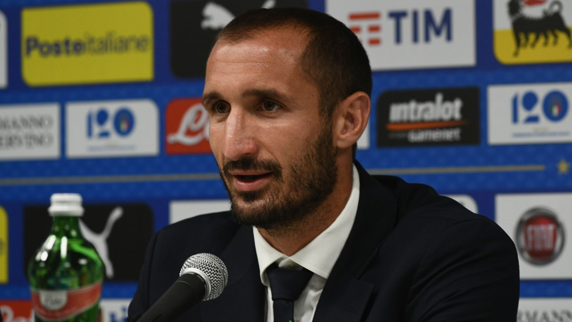 Giorgio Chiellini Italy press conference 06092018