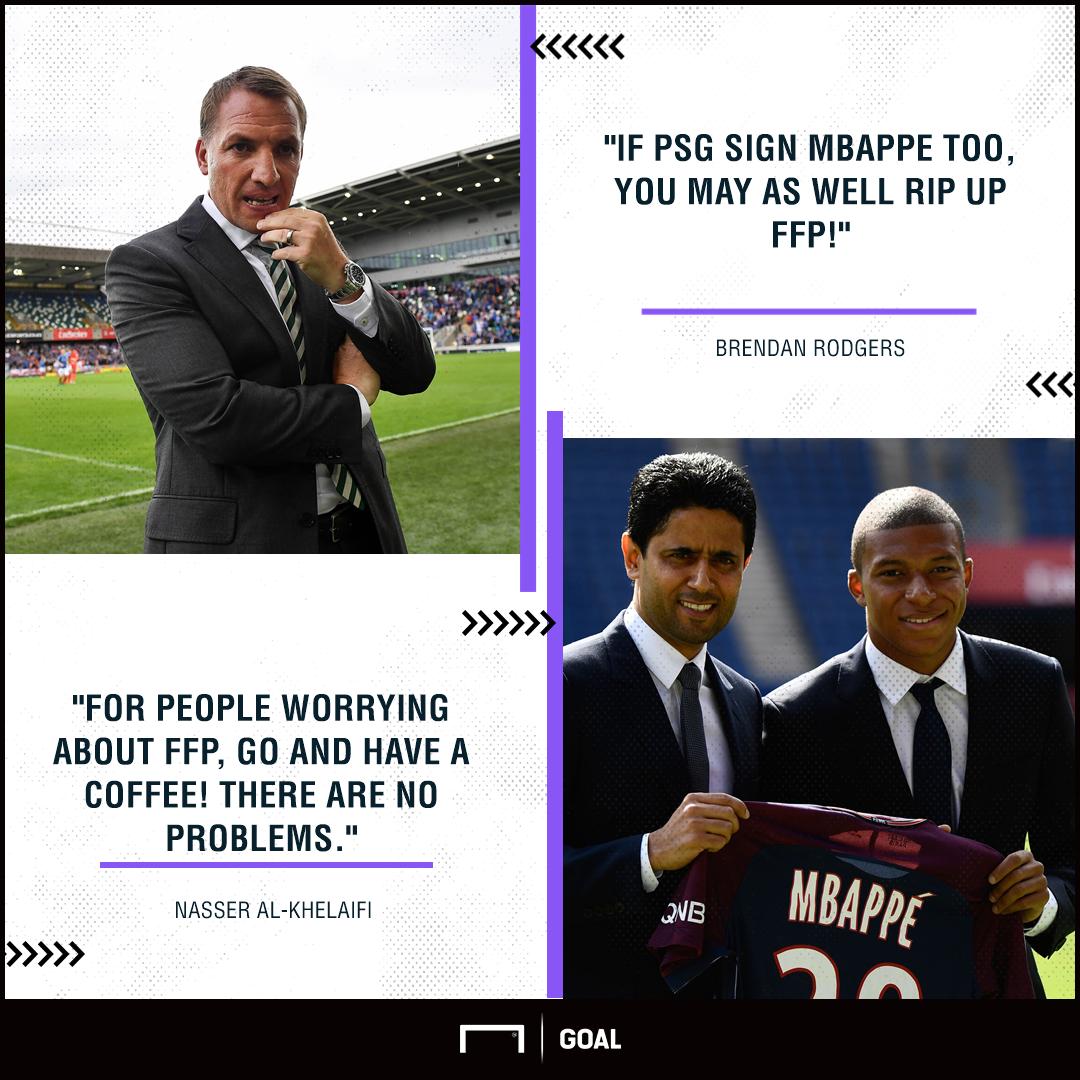 Rodgers Al-Khelaif PSG FFP PS