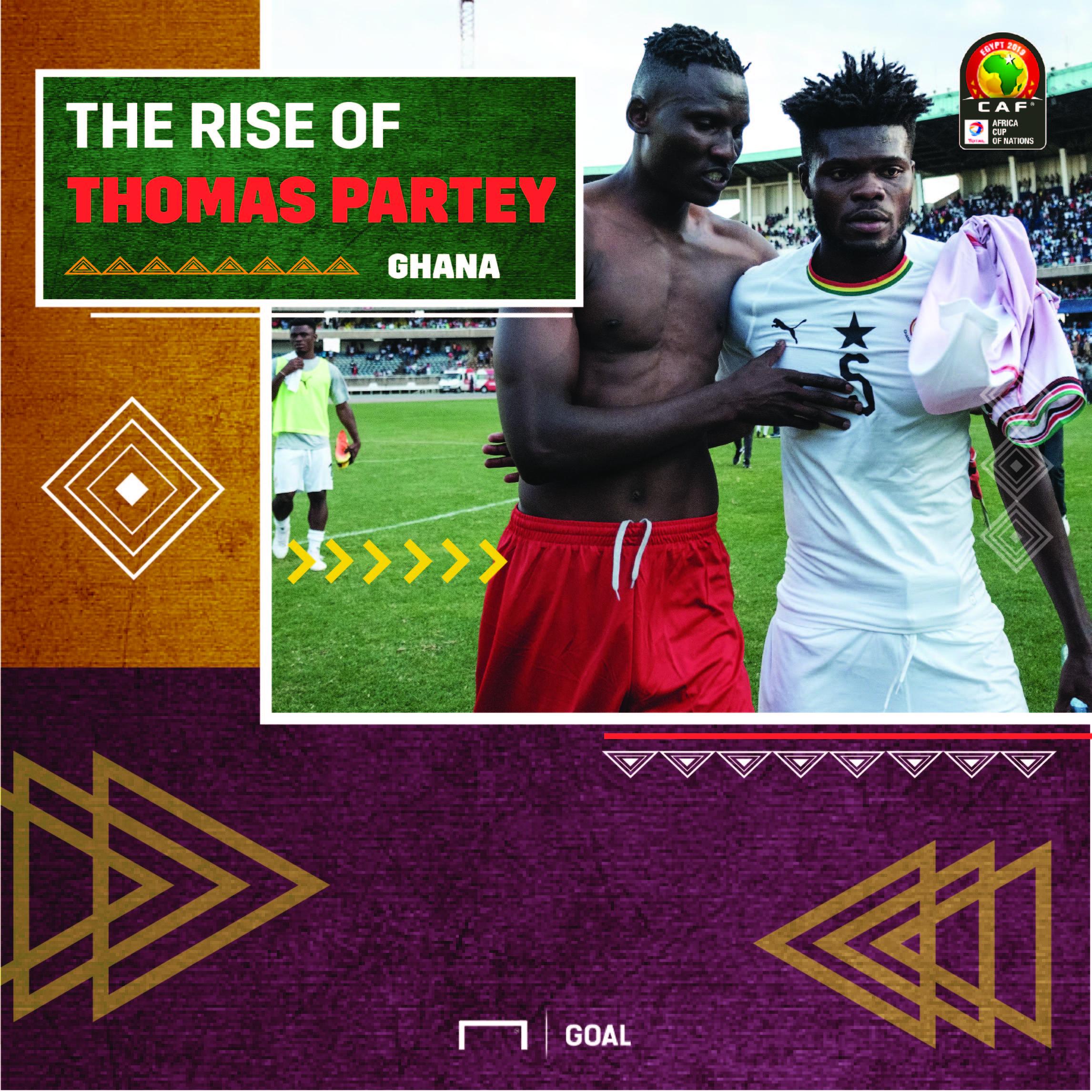Rise off Thomas Partey