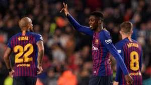 Ousmane Dembele Barcelona Levante Copa del Rey 17012019